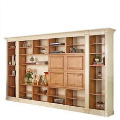 Librería modular clásica de salón Verona Cómpralo en www.betty-co.com