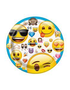 8 Platos Emoji™: Este lote incluye 8 platos con licencia oficialEmoji™.Son de cartón y miden alrededor de 17,5 cm de diámetro.El dibujo tiene…