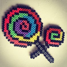 Lollipops hama perler beads by pagey163