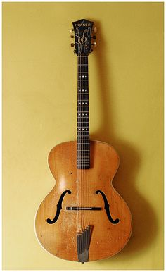 hofner 1954 archtop acoustic guitar