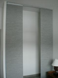 id e de julia remplacer les portes par des panneau japonais les panneaux font 50cm de large. Black Bedroom Furniture Sets. Home Design Ideas