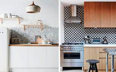 Decofilia analiza y te muestra diferentes opciones para revestir los frentes de cocina mediante diversas soluciones materiales.