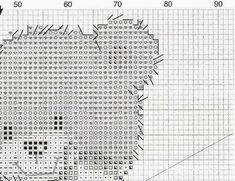 GRAFICOS PUNTO DE CRUZ GRATIS : NATACILIO(31) Disney Cross Stitch Patterns, Birth Records, Knitting Patterns, Crossstitch, Cross Stitch Designs, Disney Cross Stitches, Sewing Stitches, Cross Stitch Samplers, Knit Patterns