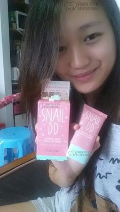 Karissa's Product Review #2 - Cathy Doll Snail DD Cream