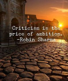 If you're not getting criticized you're doing it wrong. You MUST have haters. One of these days hopefully I'll do something to make you hate me. Motivational Picture Quotes, Motivational Quotes For Students, Inspirational Quotes, Motivational Posters, Woman Quotes, Life Quotes, Quotes Quotes, Qoutes, Sport Quotes