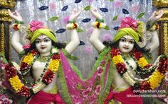 To view Gopinath Close Up Wallpaper of ISKCON Chowpatty in difference sizes visit - http://harekrishnawallpapers.com/sri-sri-nitai-gaurachandra-close-up-wallpaper-012/
