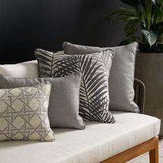Warwick Fabrics: DAINTREE Warwick Fabrics, Retro Furniture, Furniture Restoration, Decorative Cushions, Dining Room Chairs, Satin Fabric, Upholstery, Sofa, Throw Pillows