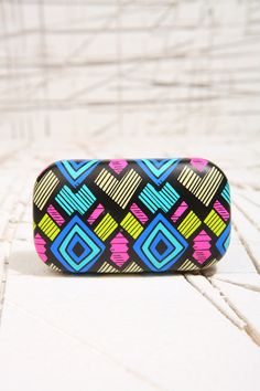 Geo Print Contact Lens Case at Urban Outfitters