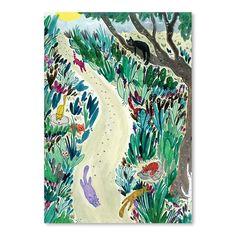 Animali unici, ambienti insoliti, ritratti inaspettati, personaggi, scritte a mano e pattern: il mondo ideato dall'artista statunitense Adrienne Vita prende forma su carta.