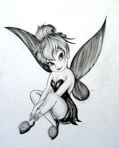 #Tattoo #TinkerBell #Fairy