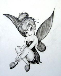 #Tattoo #TinkerBell #Fairy