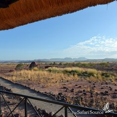 When on safari, don't be surprised if you wake up to uninterrupted views covered in blue skies - and a day full of excitement in front of you! Himba People, Blue Skies, Rock Art, Safari, Wildlife, Sky, Explore, Mountains, Park