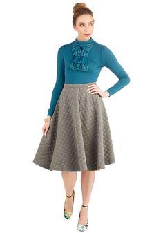 Bubble Whammy Skirt, @ModCloth