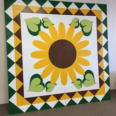 Sunflower - Lake County Quilt Trail - Kelseyville, California