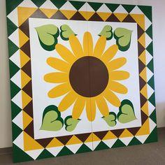 Sunflower - Lake County Quilt Trail - Kelseyville, California