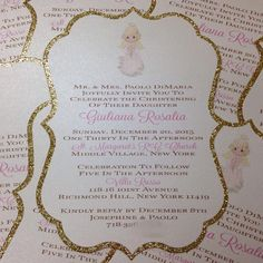 Angel Invitation Precious Moments Invitation made by Place Of Events