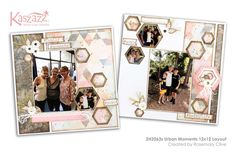 This project will show you how to create a feminine layout with a touch of grunge. 12x12 Scrapbook, Scrapbooking Layouts, Finding Yourself, Workshop, Gallery Wall, Urban, In This Moment, Frame, Projects