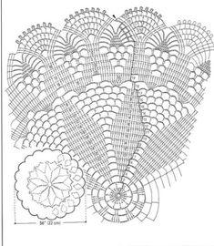 Crochet Doily Diagram, Filet Crochet, Crochet Motif, Crochet Shawl, Crochet Lace, Crochet Dollies, Crochet Potholders, Crochet Cushions, Crochet Socks