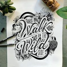 tekenen tekst, woorden Fresh Remarkable Lettering and Typography Design for Inspiration - 12 Update Hand Lettering Quotes, Types Of Lettering, Lettering Styles, Typography Quotes, Typography Inspiration, Typography Poster, Hand Drawn Typography, Tattoo Typography, Typography Sketch