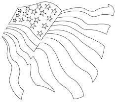waving american flag stencil - Google Search