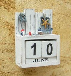 Calendario Perpetuo de Madera,Creativo Calendario de Estilo Calendario Vintage de Madera Escritorio Bloques de Calendario Perpetuo Eterno Para Decoraci/ón Calendario de Escritorio Perpetuo con N/úmero