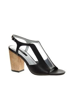 Senso Patsy Perspex Heeled Sandals