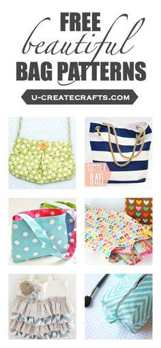 Many free beautiful bag patterns