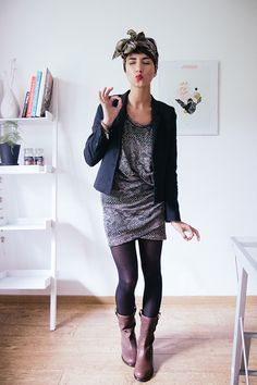 Blazer Vanessa Bruno x La Redoute Robe Selected Bottes Yvonne Koné Foulard Pieces Bracelet Orelia