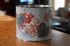 decoupage can