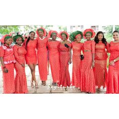 Nigerian Fashion. Aso ebi styles. Nigerian wedding guests styles.