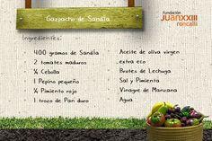 Verano = Gazpacho de Sandía