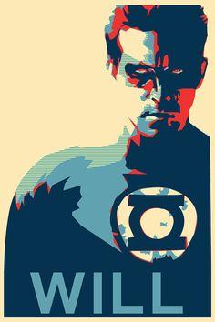 "Green Lantern ""Will"" Print"