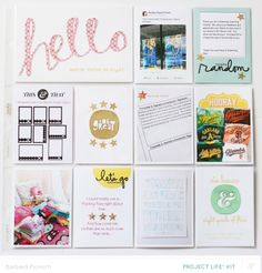 Project Life 2014 week 10 Bluegrass Farms addons by at Pocket Page Scrapbooking, Scrapbook Pages, Scrapbooking Ideas, Project Life Freebies, Hello March, Project Life Album, Journal Cards, Journal Ideas, Travel Album