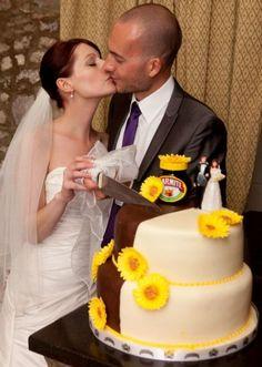 Marmite Wedding Cake! Love it or Hate it? :)