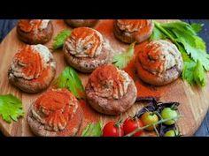 Шляпки шампиньонов с начинкой - Рецепты от Со Вкусом