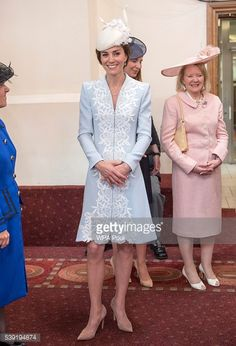 Catherine, Duchess of Cambridge attends a lunch after the National Service of Thanksgiving as part of the 90th birthday celebrations for The Queen at The Guildhall on June 10, 2016 in London, England.