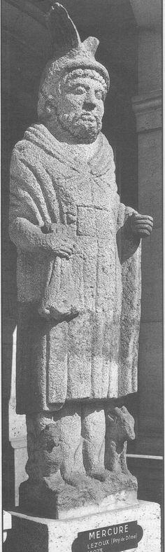 Le mercure de Lezoux, monde Gallo-romain