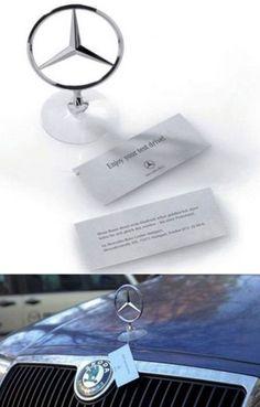 Mercedes Benz Guerrilla Marketing Genial.