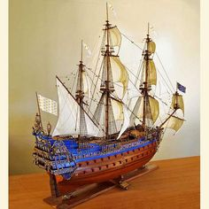 Model Ships | Le Soleil Royal Model Ship | Builders of Replica Ship Models