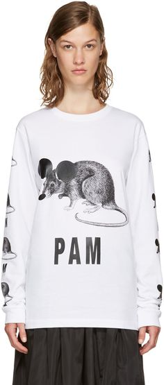 PERKS AND MINI White 'We'Ve Got The Numbers' T-Shirt. #perksandmini #cloth #t-shirt