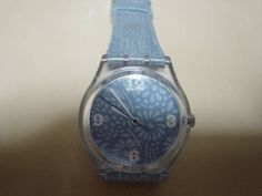 Swatch アンティークSWATCHSWISSデニムデザインの腕時計 Watch Antique ¥5000yen 〆08月08日