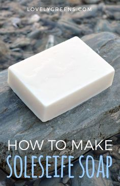How to make Soleseife: a Natural Sea Water Soap Recipe #soaprecipe #soapmaking