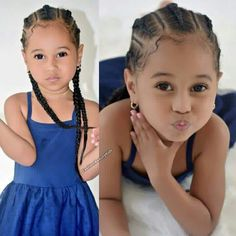Braids are so cute for my GBaby