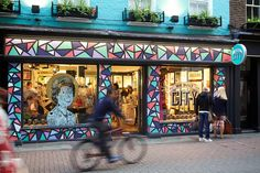 There's no rock and roll, but plenty of art and creativity at London's alt-souvenir store We Built This City...
