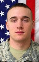 Army Pfc. Adam J. Muller  Died November 5, 2007 Serving During Operation Iraqi Freedom  21, of Underhill, Vt.; assigned to the 1st Brigade Special Troops Battalion, 1st Brigade Combat Team, 10th Mountain Division (Light Infantry), Fort Drum, N.Y.; died Nov. 5, in Tal Al-Dahab, Iraq, of wounds sustained when an improvised explosive device detonated near his Humvee during combat operations.