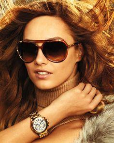 Michael Kors Jemma Studded Aviators & Camille Golden Watch.   LOVE IT!!!! :D