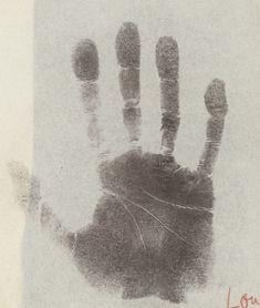 Handprint of Aldous Huxley from Charlotte Wolff, 1936 by Hans Peter Feldmann on Curiator, the world's biggest collaborative art collection. Hans Peter, Aldous Huxley, Marcel Duchamp, Digital Museum, Poster Series, Collaborative Art, Tag Art, Charlotte, Ink