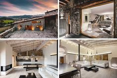 This home La Cerdanya, Spain, was once an old farm house. | Renovated by Dom Arquitectura, with interiors by Blanca Elorduy