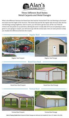 Metal Garage Buildings Online Today | Alan's Factory Outlet