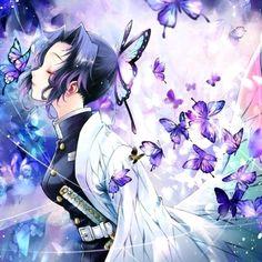 Demon Slayer: Kimetsu No Yaiba Fan Art Anime, Anime Artwork, Anime Art Girl, Manga Girl, Demon Manga, Manga Dragon, Ange Anime, Anime Angel, Demon Slayer